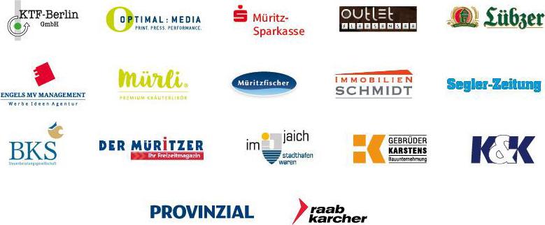 Sponsoren Müritz Matchrace 2017
